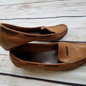 Cole Haan Moccasin Laced Boater Slip On Flats 10